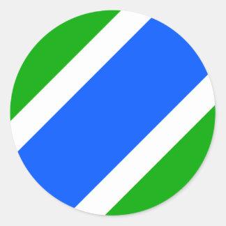 Usilne, Czech Classic Round Sticker