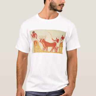 Using cows to trample wheat T-Shirt
