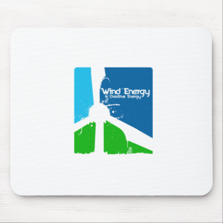 Using creativety in wind energy.  Windsmiths Mouse Pad