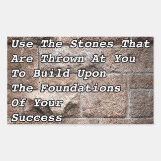 Using Stones Sticker
