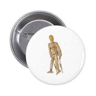 UsingCrutches013110 Pin Redondo 5 Cm