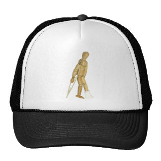 UsingCrutches031910 Trucker Hat