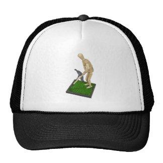 UsingHoeOnGrass112611 Trucker Hat