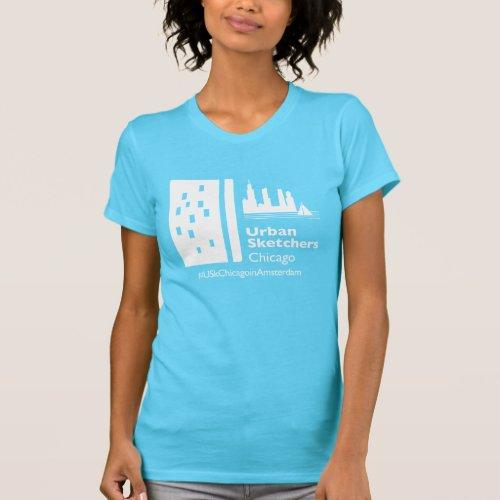 USk Chicago in Amsterdam T_Shirt