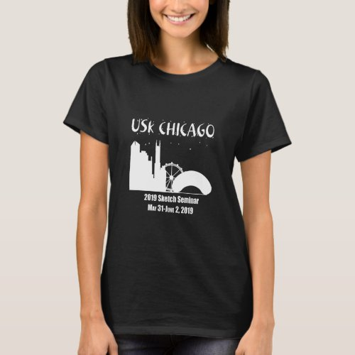 USk Chicago Sketch Seminar 2019 T_Shirt
