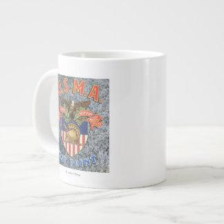 USMA West Point Seal Scene Giant Coffee Mug