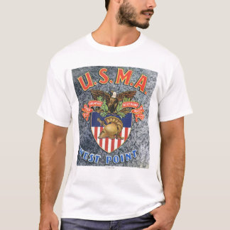 USMA West Point Seal Scene T-Shirt