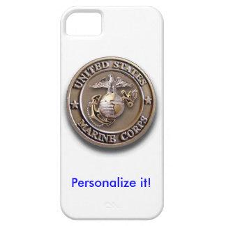 USMC 3D Brass Seal iPhone 5 Covers