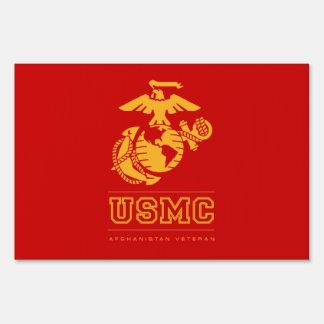 USMC Afghanistan Veteran Sign