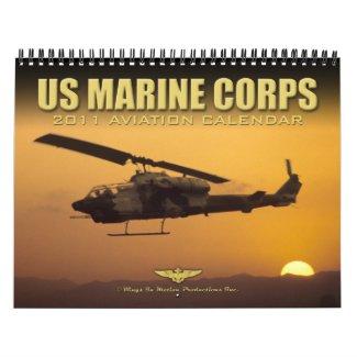 USMC Aviation 2011 Calendar calendar
