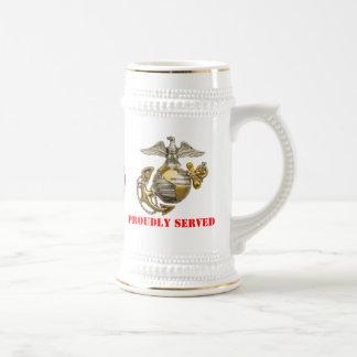 USMC BEER STEIN