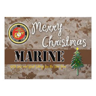 USMC Christmas Card Camo