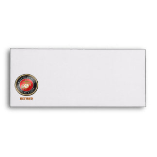 USMC Custom # 10 Envelope