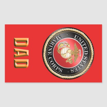 USMC Dad Sticker