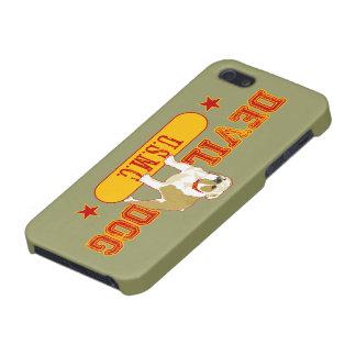 USMC del perro de diablo iPhone 5 Funda