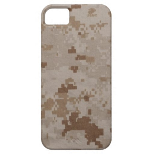USMC Desert Camouflage iPhone 5 Covers