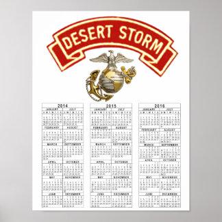 USMC DESERT STORM VETERAN POSTERS