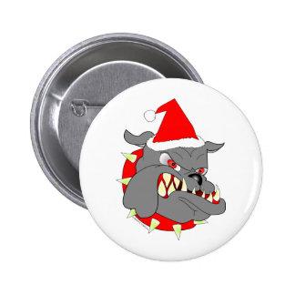 USMC Devil Dog Christmas Pins