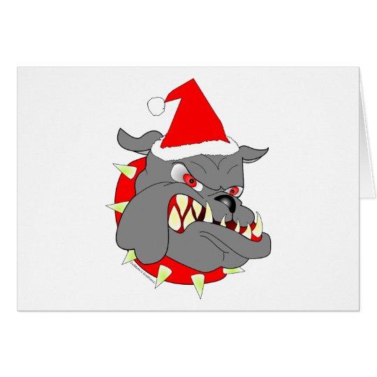 USMC Devil Dog Christmas Card