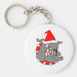 USMC Devil Dog Christmas Keychains