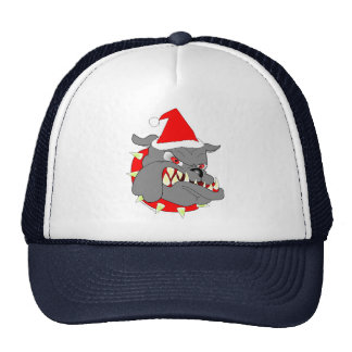 USMC Devil Dog Christmas Mesh Hats