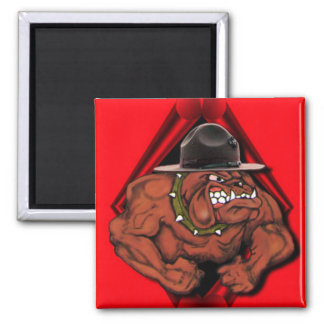 USMC Devil Dog Magnet