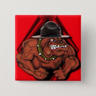 USMC Devil Dog Pinback Button