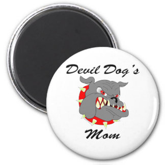 USMC Devil Dog's Mom Magnet