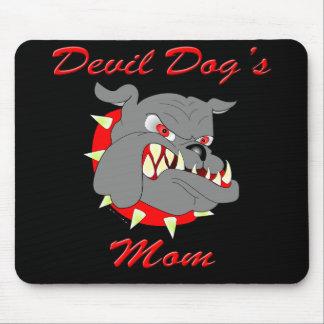 USMC Devil Dog's Mom Mouse Pad