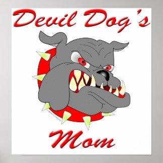 USMC Devil Dog's Mom Print