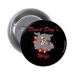 USMC Devil Dog's Wife Buttons