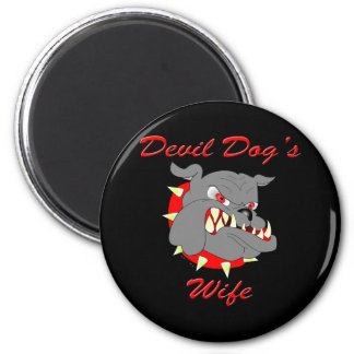 USMC Devil Dog's Wife Magnet
