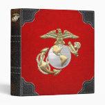 USMC Eagle, Globe & Anchor (EGA) [3D] Binder
