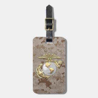 USMC Eagle, Globe & Anchor (EGA) [3D] Tag For Luggage