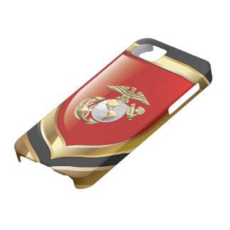 USMC Eagle, globo y ancla (EGA) [3D] iPhone 5 Case-Mate Fundas