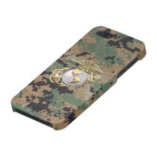 USMC Eagle, globo y ancla (EGA) [3D] iPhone 5 Cárcasa