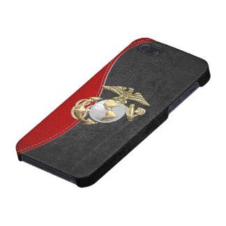 USMC Eagle, globo y ancla (EGA) [3D] iPhone 5 Carcasa