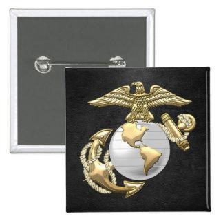 USMC Eagle globo y ancla EGA 3D Pin