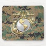 USMC Eagle, globo y ancla (EGA) [3D] Tapetes De Raton