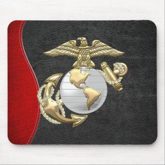 USMC Eagle, globo y ancla (EGA) [3D] Alfombrilla De Ratones
