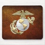 USMC Eagle, globo y ancla (EGA) [3D] Alfombrilla De Ratón