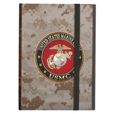USMC EGA [Special Edition] [3D] Cover For iPad Air