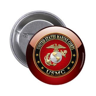 USMC EGA [Special Edition] [3D] Pinback Button