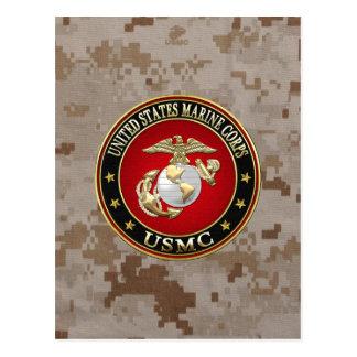 USMC EGA [Special Edition] [3D] Post Card