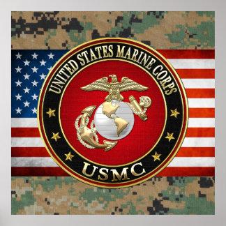 USMC EGA [Special Edition] [3D] Poster