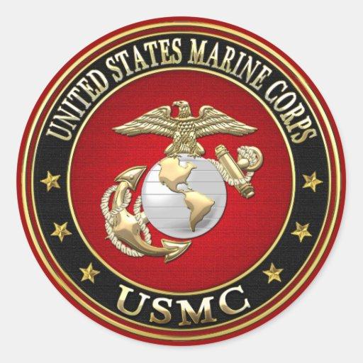 USMC EGA [Special Edition][3D] Stickers