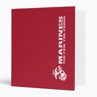 """USMC el pocos el logotipo orgulloso - blanco Carpeta 1"""""""