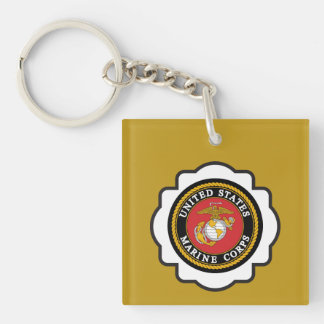 USMC Emblem Keychain