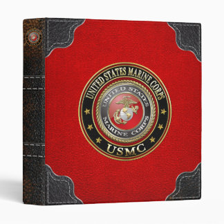 USMC Emblem [Special Edition] [3D] Binder