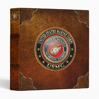 USMC Emblem [Special Edition] [3D] Vinyl Binders